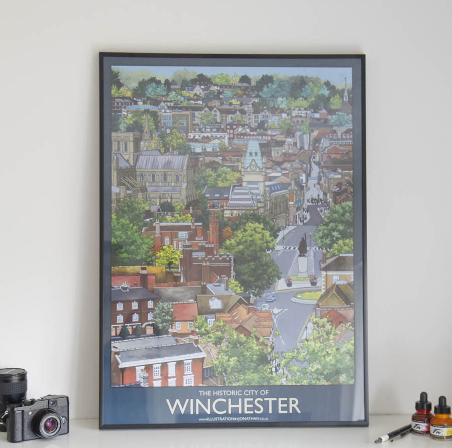 Historic Winchester Poster-3