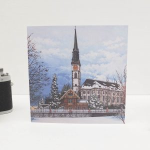 Snowy Cham Greeting Card