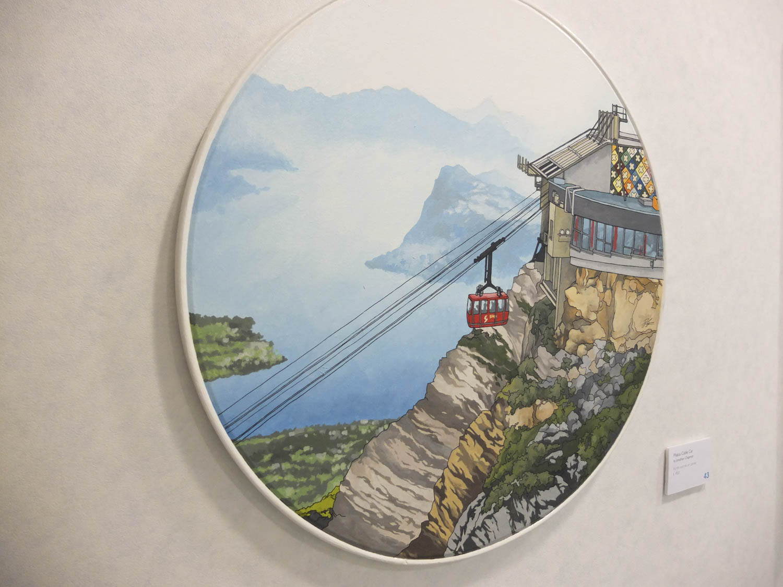 Pilatus Cable Car by Jonathan Chapman