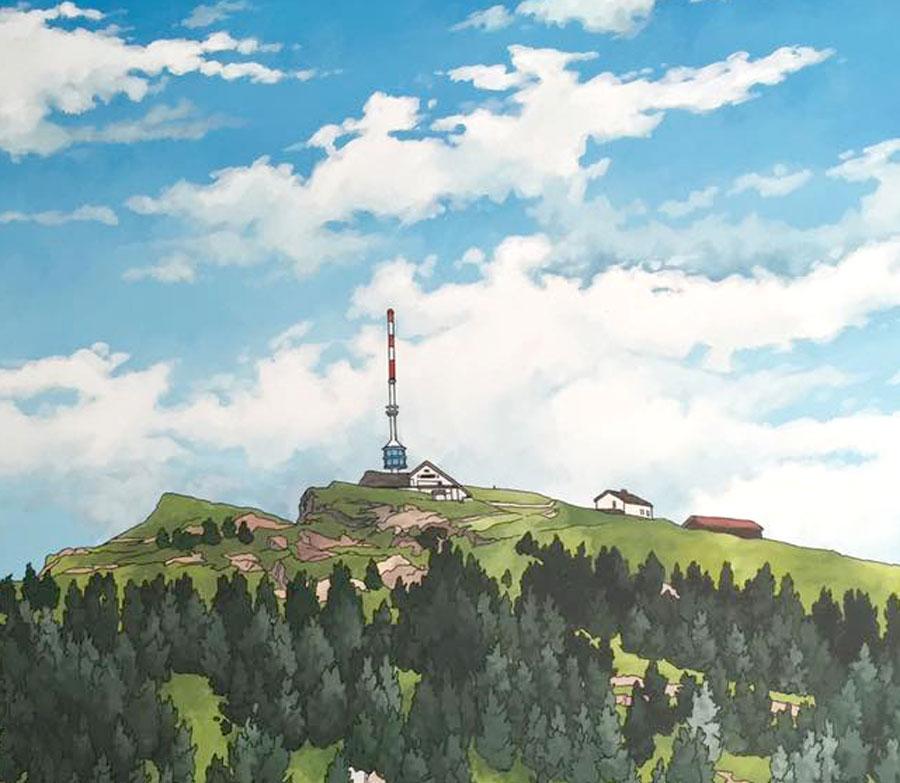 Rigi Summit by Jonathan Chapman