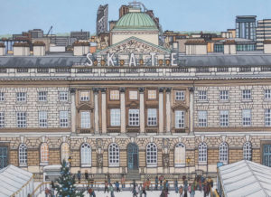 Skate Somerset House Painting