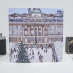 Skate Somerset House Greeting Card