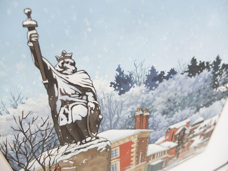 Snowy Alfred