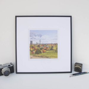 View From Primrose Hill Limited Edition Print