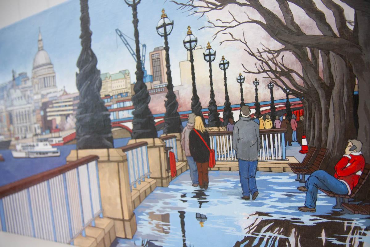 Theatrical Walk by Jonathan Chapman