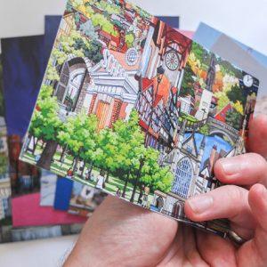 Illustrated Postcard Set