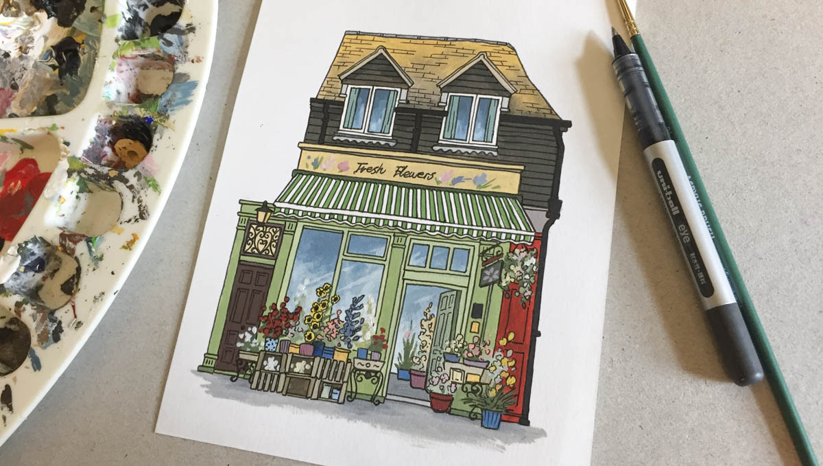 Little Flower Shop by Jonathan Chapman