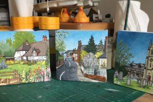 Botley Triptych