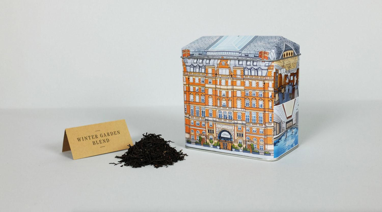Landmark Tea Caddy
