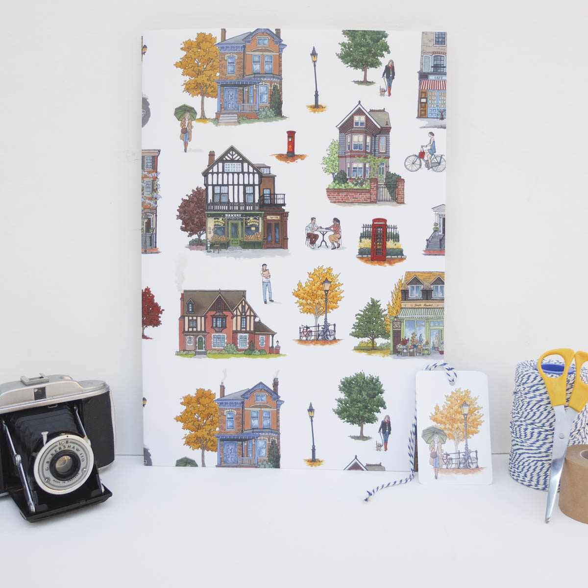 Wrapping paper by Jonathan Chapman