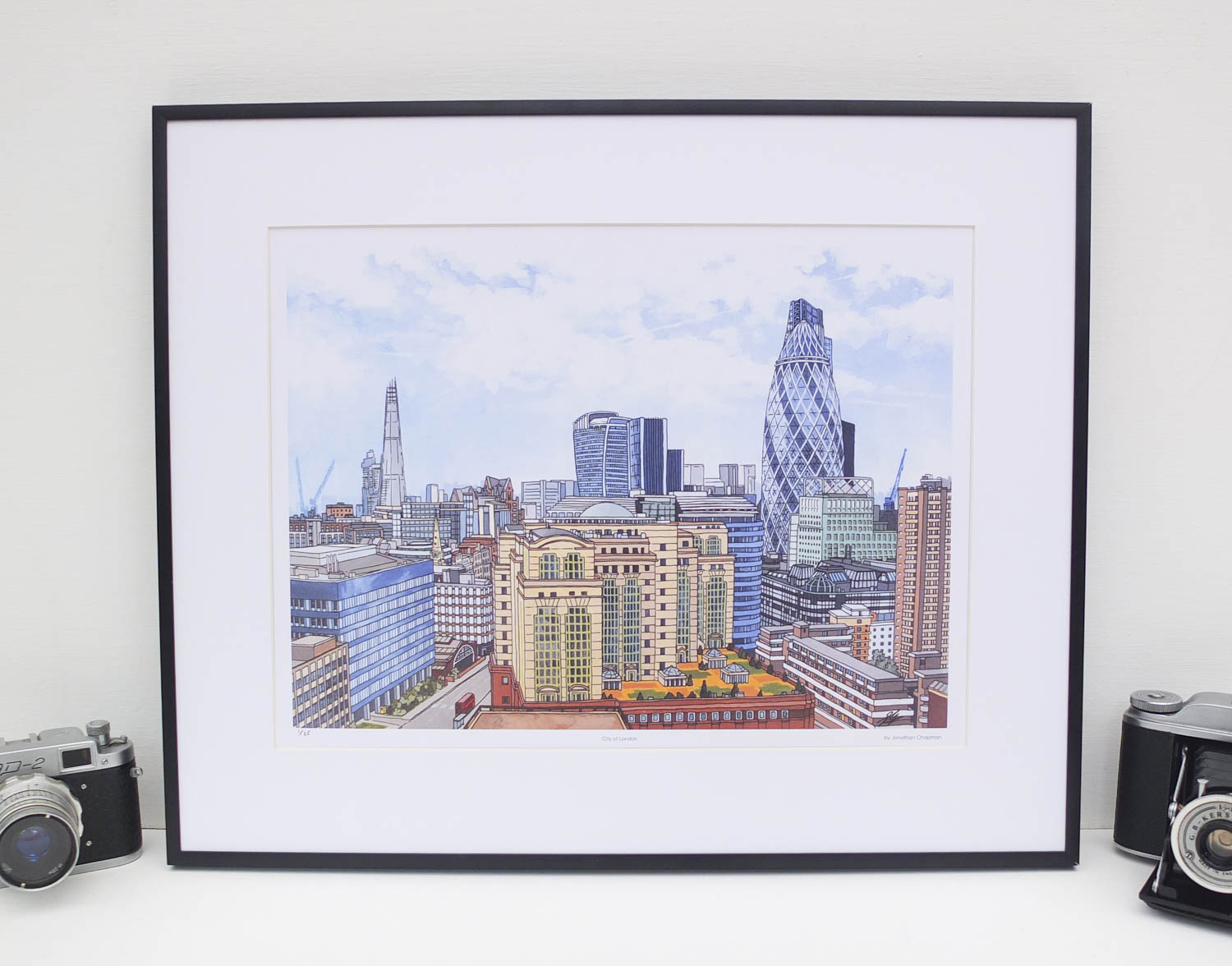 City of London Limited Edition Print