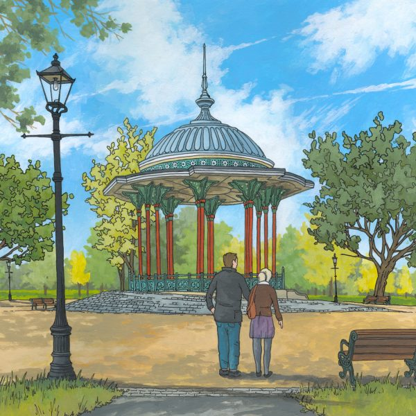 Clapham Common Bandstand by Jonathan Chapman