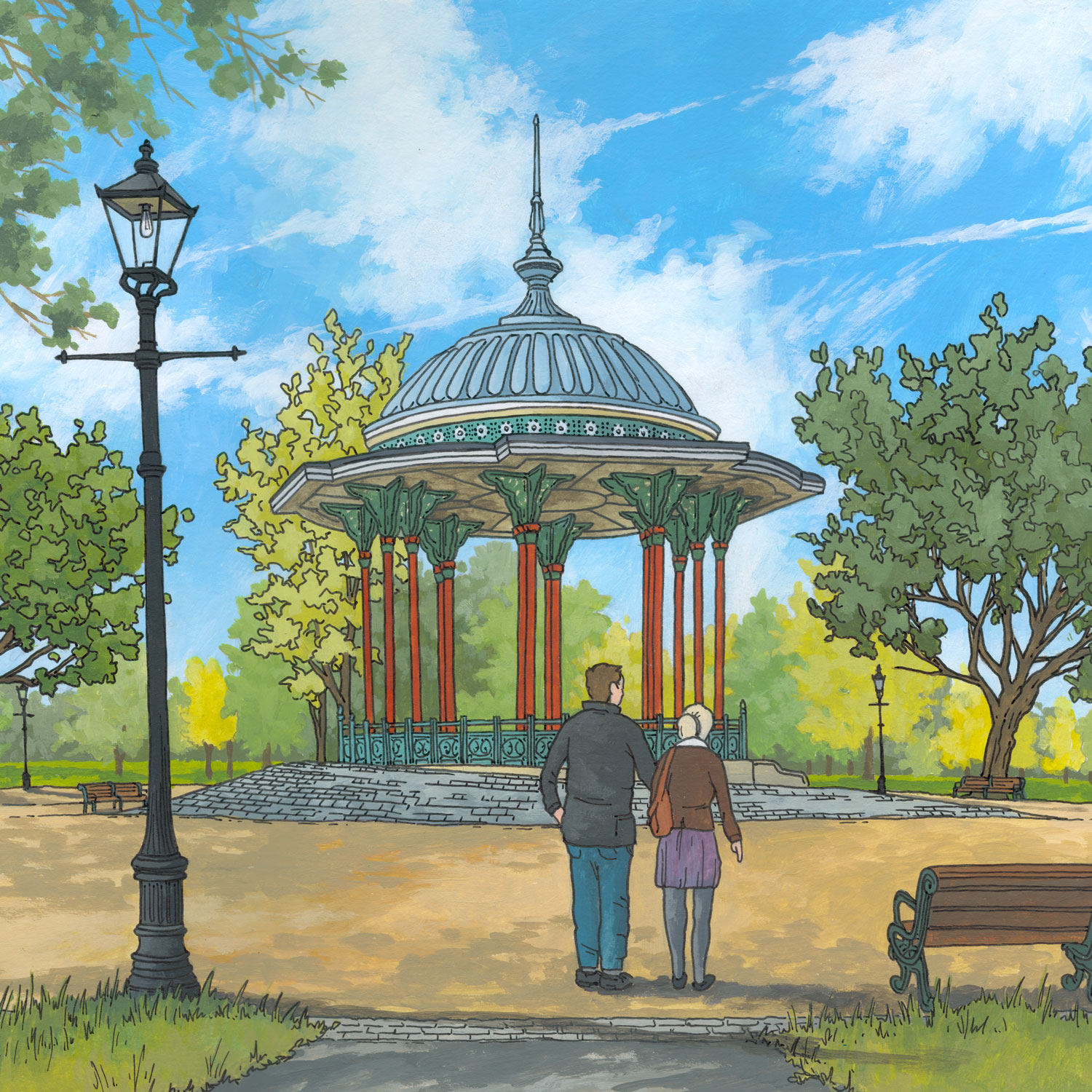 Clapham-Common-Bandstand