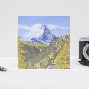 Matterhorn in Summer Greeting Card