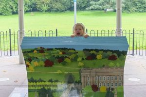 Memorial Park Bookbench & Charity Auction