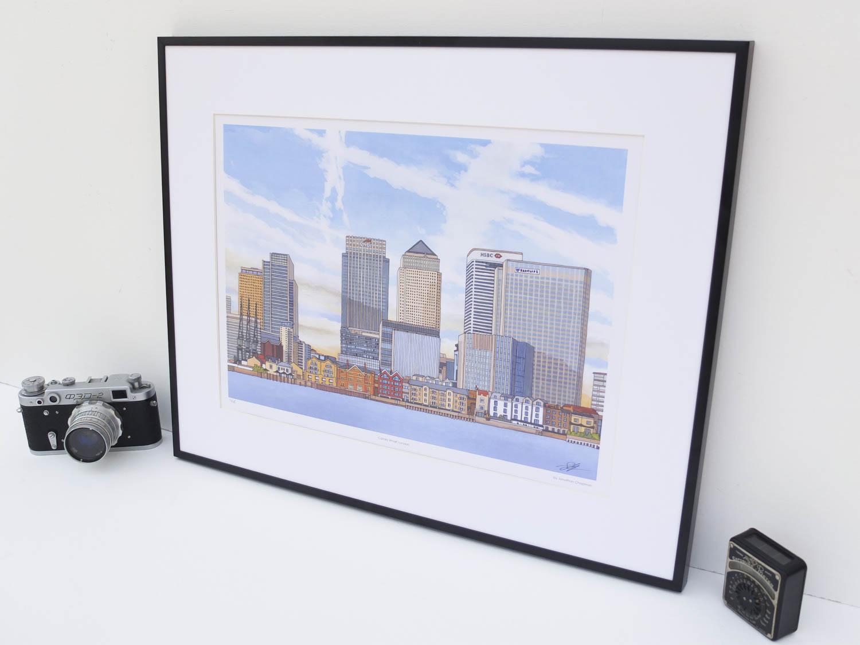 Canary Wharf Limited Edition Print