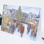 Christmas Market Zug Greeting Card
