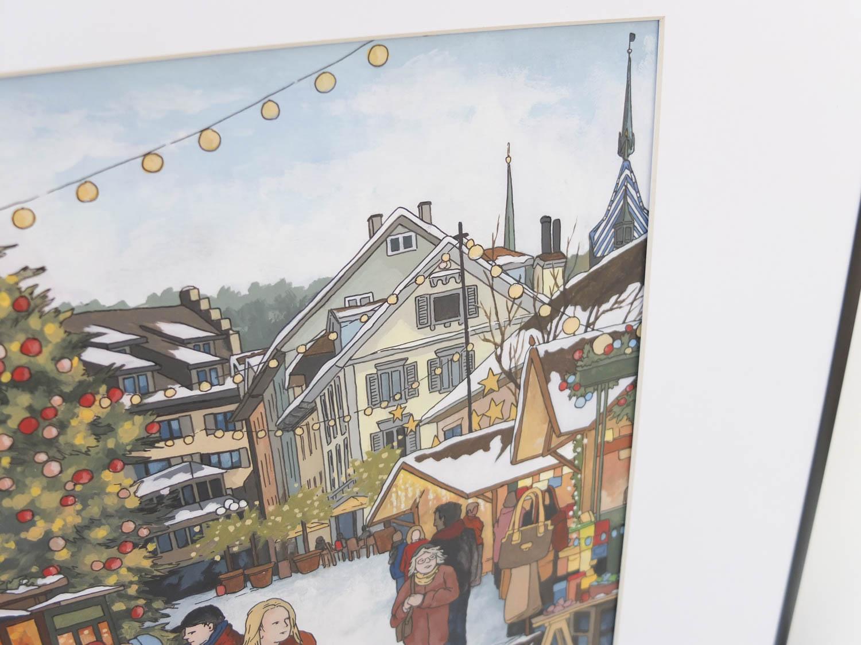 Christmas Market Zug by Jonathan Chapman