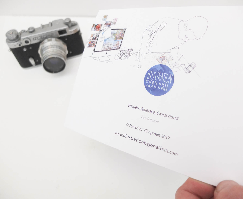 Eisigen Zugersee Greeting Card by Jonathan Chapman
