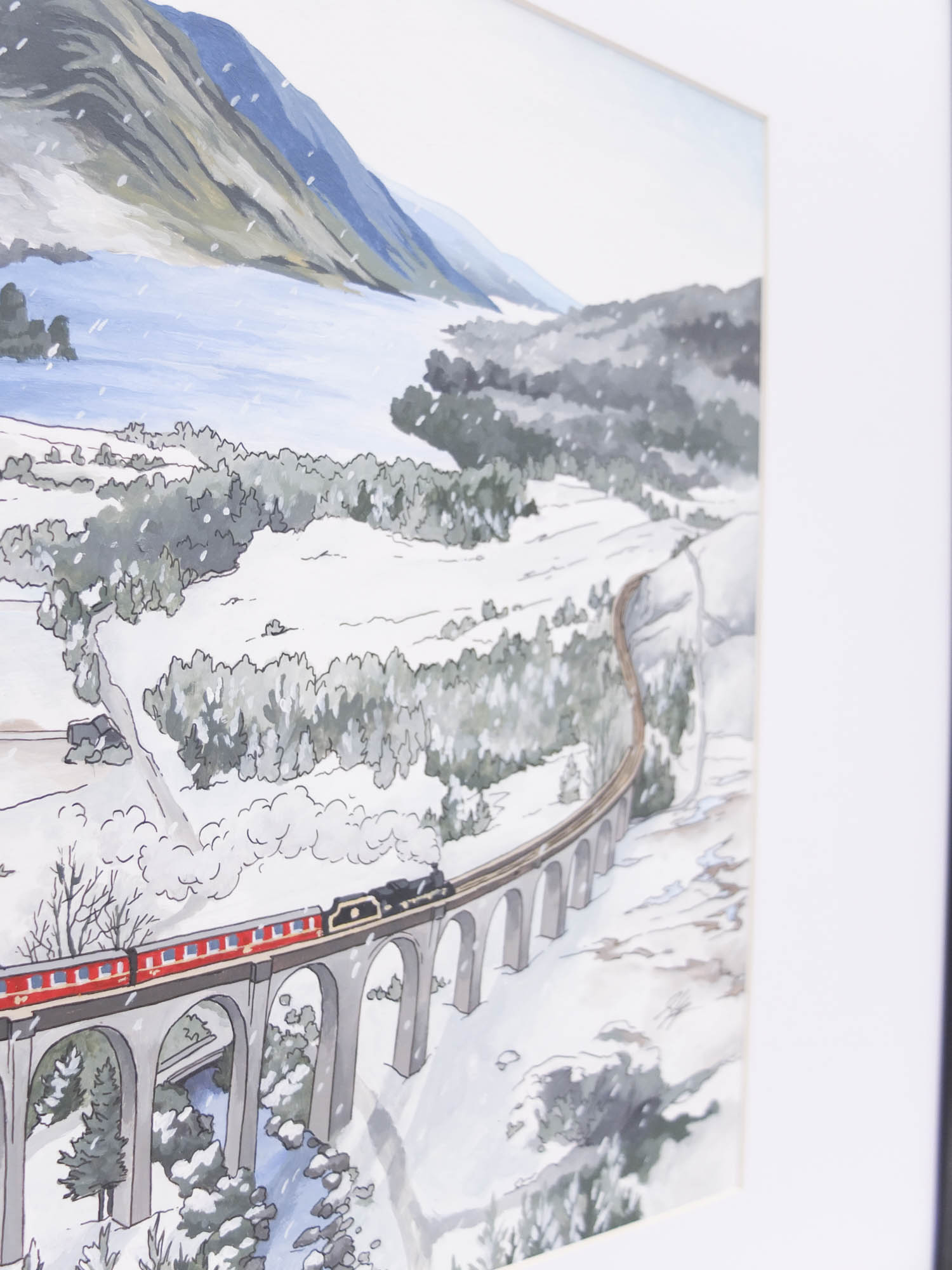 Glenfinnan Viaduct by Jonathan Chapman