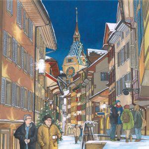 Starlight Altstadt Zug by Jonathan Chapman