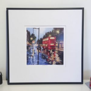 Rain Before the Train Limited Edition print