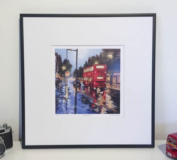 Rain Before the Train Limited Edition print