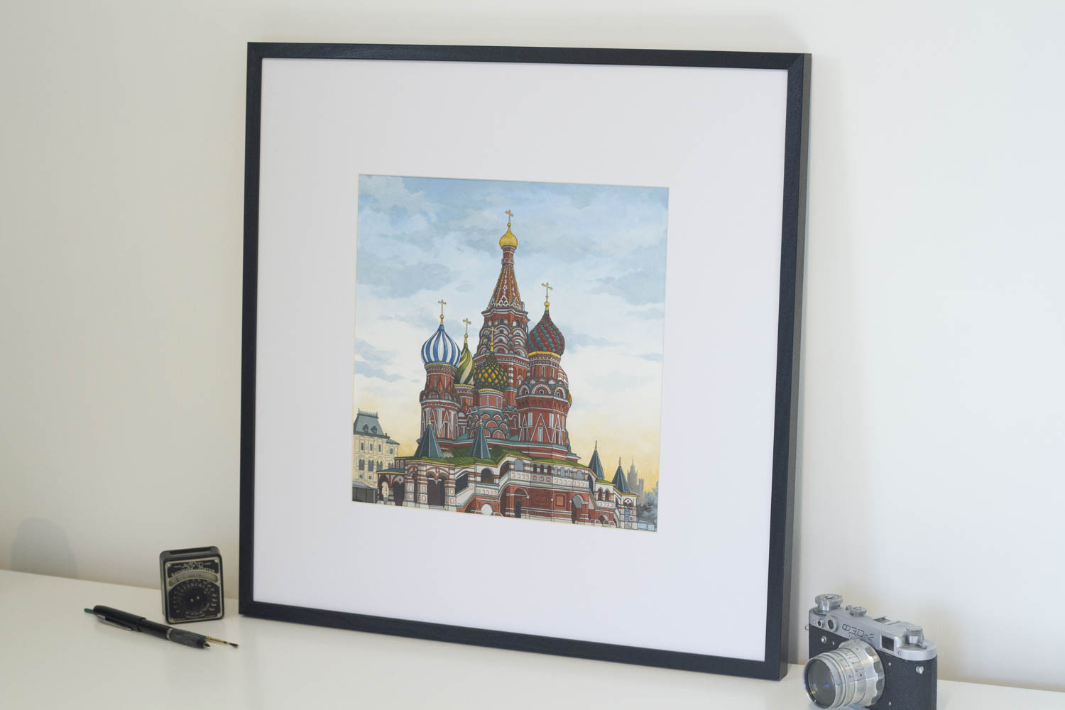 St Basil's Cathedral by Jonathan Chapman