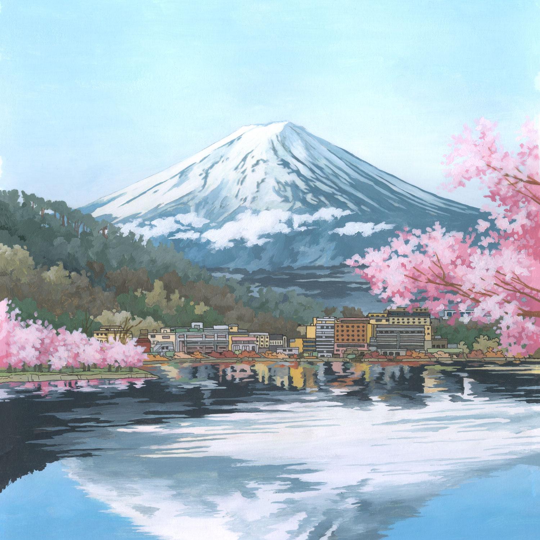 Mount Fuji, Japan by Jonathan Chapman