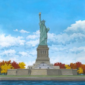 The Statue of Liberty by Illustrator Jonathan Chapman
