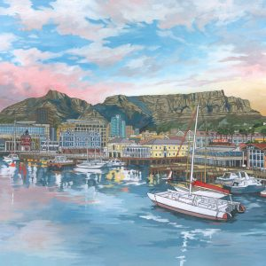 V&A Waterfront Cape Town by Artist Jonathan Chapman