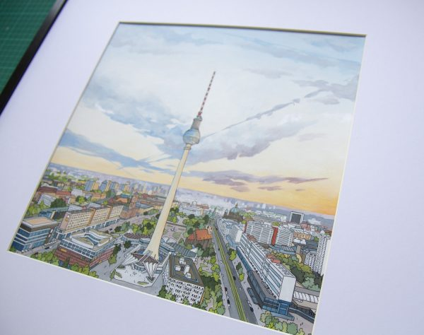 Berliner Fernsehturm by Jonathan Chapman