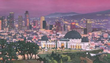 Griffith Observatory Los Angeles Illustration by Jonathan Chapman