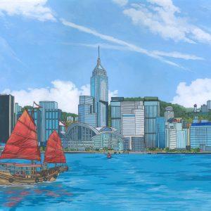 Hong Kong Island by Jonathan Chapman