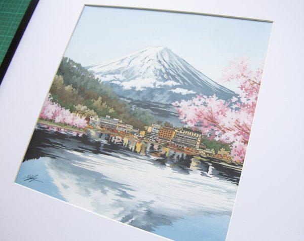Mount Fuji Japan by Jonathan Chapman