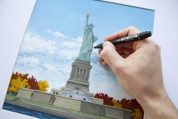 Statue of Liberty by Jonathan Chapman