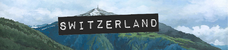 Switzerland Paintings by Jonathan Chapman