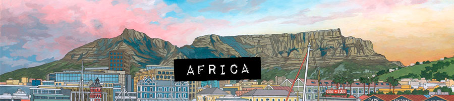 africa paintings by Jonathan Chapman