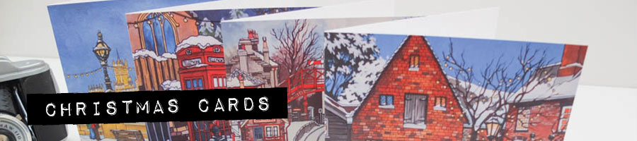 Christmas cards banner
