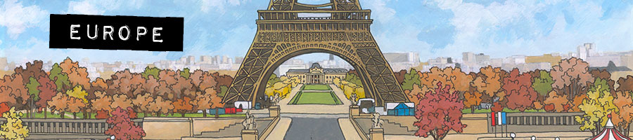 Europe Limited Edition Prints by Jonathan Chapman