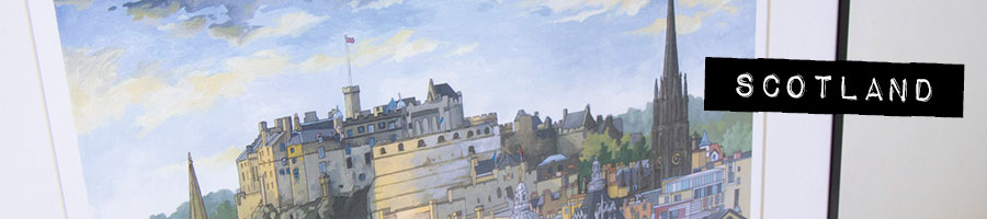 Scotland Limited Edition Prints by Jonathan Chapman