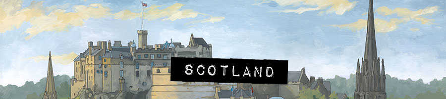 Scotland Paintings by artist Jonathan Chapman
