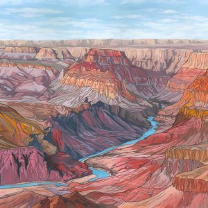 The Grand Canyon Illustration by Jonathan Chapman