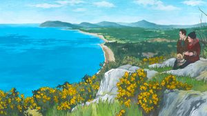 Killiney Hill Commission Painting by Jonathan Chapman