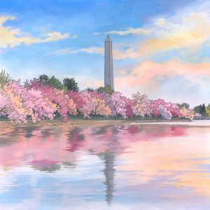 The Washington Monument Illustration by Jonathan Chapman