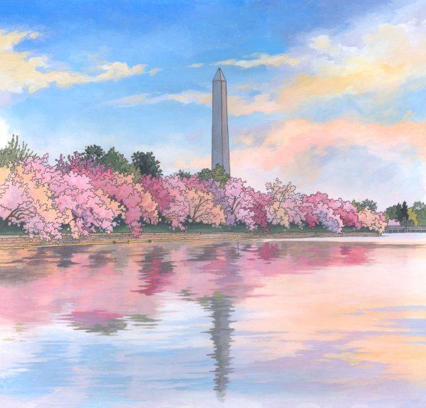 The Washington Monument Illustration by Jonathan Chapman