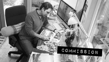 Commission - Illustration by Jonathan Chapman