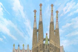 No. 21 – The Sagrada Familia, Barcelona