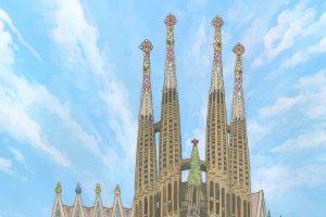No. 21 – The Sagrada Familia, Barcelona