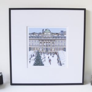 Skate Somerset House Limited Edition Print - Illustration by Jonathan Chapman-1